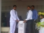 Donation of 7 Water Dispenser to the School